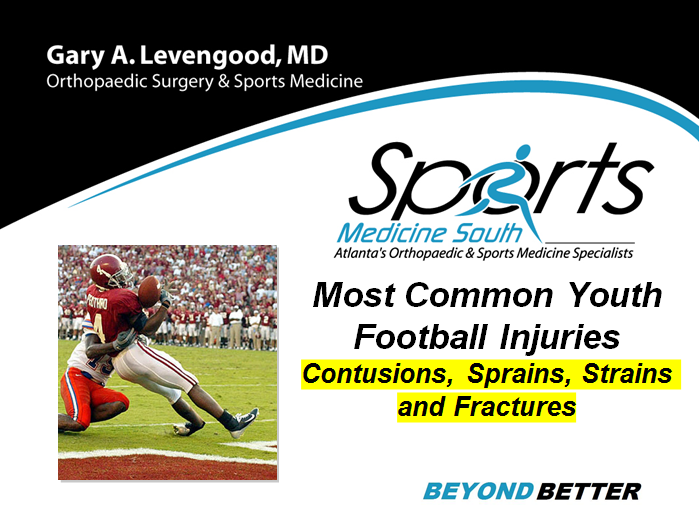 Most Common Youth Football Injuries