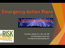 emergency action plan and lightning safety powerpoint