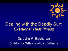 heat illness powerpoint
